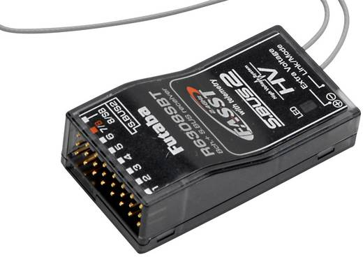 8-Kanal Empfänger Futaba R6308SBT 2,4 GHz Stecksystem Futaba