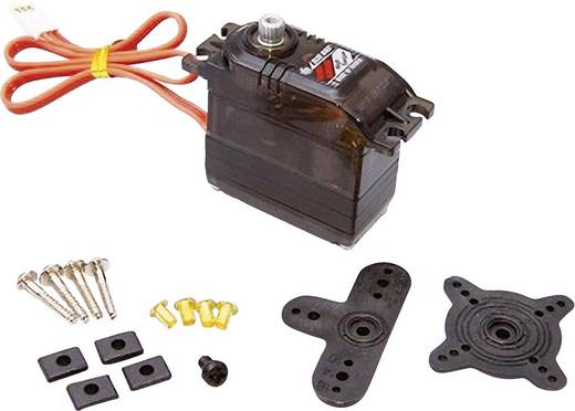 Bluebird Standard-Servo BMS-620MG Analog-Servo Getriebe-Material Metall Stecksystem JR