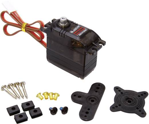 Bluebird Standard-Servo BMS-630MG Analog-Servo Getriebe-Material Metall Stecksystem JR