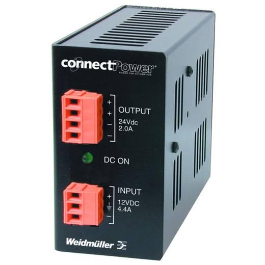 Hutschienen-Netzteil (DIN-Rail) Weidmüller CP DCDC 50W 12V 3A 12 V/DC 3 A 50 W 2 x