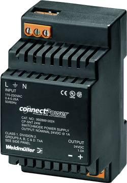 Síťový zdroj na DIN lištu Weidmüller CP SNT 24W 12V 1.5A, 1 x, 12 V/DC, 1.5 A, 18 W