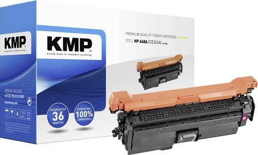 KMP Toner ersetzt HP 648A, CE263A Kompatibel Magenta 11000 Seiten H-T136