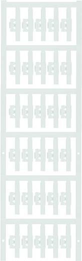 Zeichenträger Montage-Art: aufclipsen Beschriftungsfläche: 30 x 4.10 mm Passend für Serie Einzeldrähte Weiß Weidmüller S