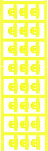 Zeichenträger Montage-Art: aufclipsen Beschriftungsfläche: 21 x 5.80 mm Passend für Serie Einzeldrähte Gelb Weidmüller S