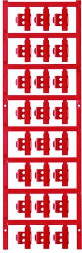 Zeichenträger Montage-Art: aufclipsen Beschriftungsfläche: 21 x 4.10 mm Passend für Serie Einzeldrähte Rot Weidmüller SF