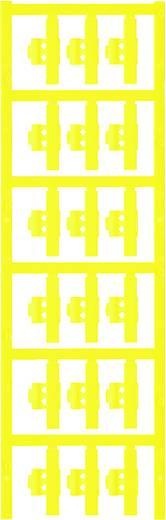 Zeichenträger Montage-Art: aufclipsen Beschriftungsfläche: 30 x 5.80 mm Passend für Serie Einzeldrähte Gelb Weidmüller S