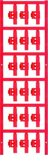 Zeichenträger Montage-Art: aufclipsen Beschriftungsfläche: 30 x 5.80 mm Passend für Serie Einzeldrähte Red Weidmüller SF