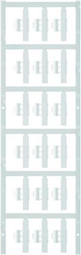 Zeichenträger Montage-Art: aufclipsen Beschriftungsfläche: 30 x 5.80 mm Passend für Serie Einzeldrähte Weiß Weidmüller S