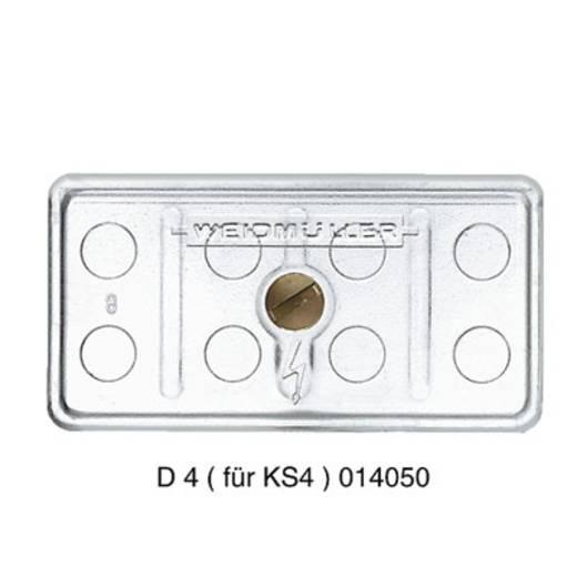 Mehrpolige Klemmleiste D4 KS4 TP 0140500000 Weidmüller 50 St.