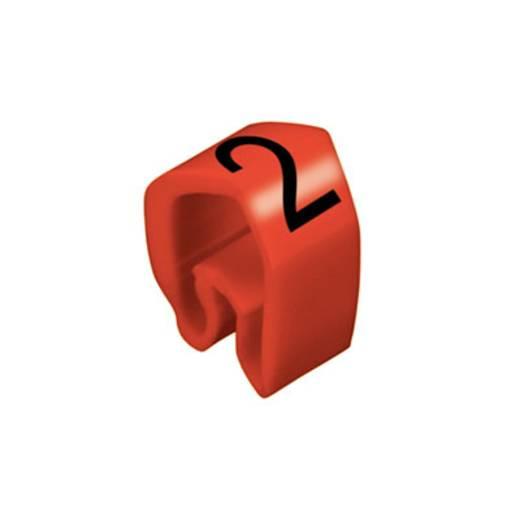 Kennzeichnungsring Aufdruck 2 Außendurchmesser-Bereich 4 bis 10 mm 0251311509 CLI C 2-4 RT/SW 2 MP Weidmüller