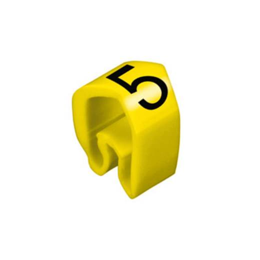 Kennzeichnungsring Aufdruck 5 Außendurchmesser-Bereich 4 bis 10 mm 0251311517 CLI C 2-4 ge/zw 5 MP Weidmüller