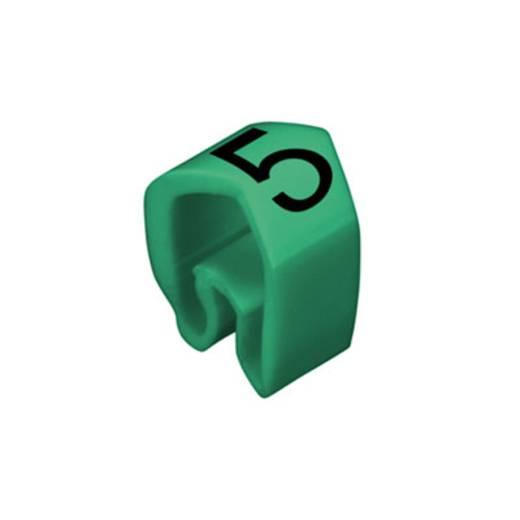 Kennzeichnungsring Aufdruck 5 Außendurchmesser-Bereich 4 bis 10 mm 0251311518 CLI C 2-4 GN/SW 5 MP Weidmüller