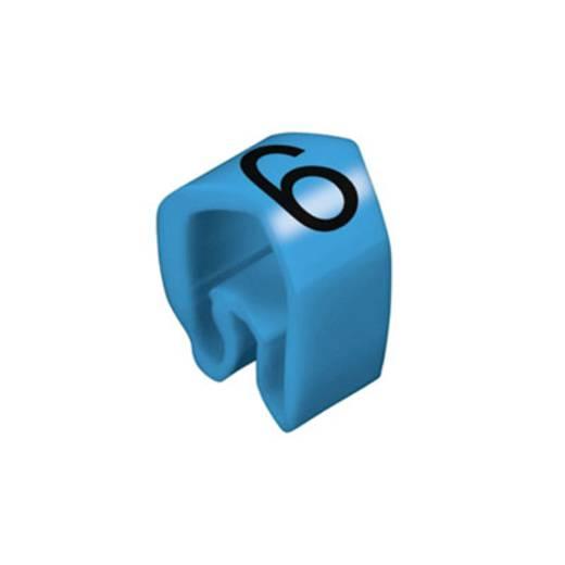 Kennzeichnungsring Aufdruck 6 Außendurchmesser-Bereich 4 bis 10 mm 0251311521 CLI C 2-4 bl/zw 6 MP Weidmüller