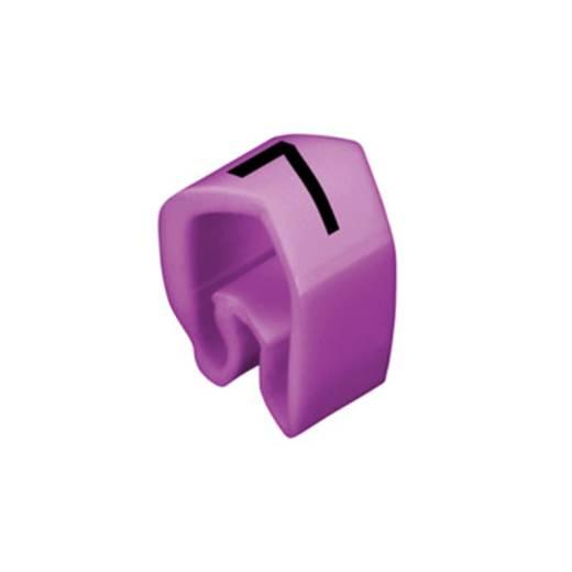 Kennzeichnungsring Aufdruck 7 Außendurchmesser-Bereich 4 bis 10 mm 0251311524 CLI C 2-4 pa/zw 7 MP Weidmüller