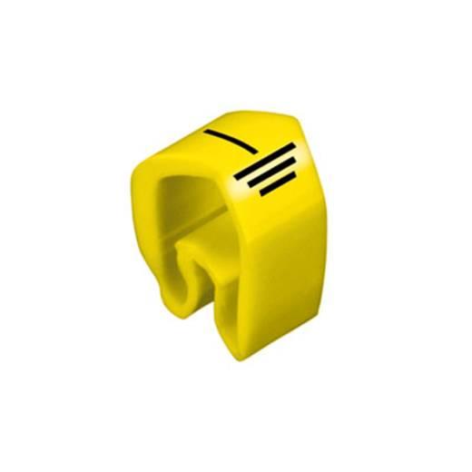 Kennzeichnungsring Aufdruck ET Außendurchmesser-Bereich 4 bis 10 mm 0251311746 CLI C 2-4 GE/SW ET MP Weidmüller