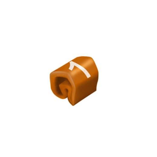 Kennzeichnungsring Aufdruck 1 Außendurchmesser-Bereich 1 bis 3 mm 0252111506 CLI C 02-3 BR/WT 1 MP Weidmüller