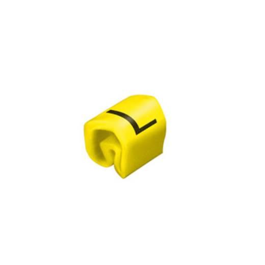 Kennzeichnungsring Aufdruck L Außendurchmesser-Bereich 1 bis 3 mm 0252111659 CLI C 02-3 ge/zw L MP Weidmüller
