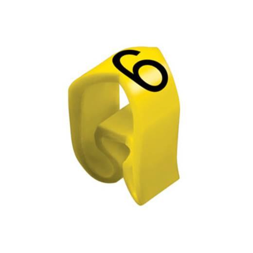 Kennzeichnungsring Aufdruck 6 Außendurchmesser-Bereich 8 bis 16 mm 0253411520 CLI C 3-6 GE/SW 6 MP Weidmüller