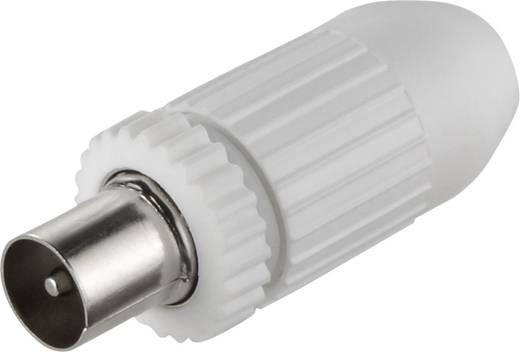 Koax-Stecker KOS 3N Kabel-Durchmesser: 7.8 mm