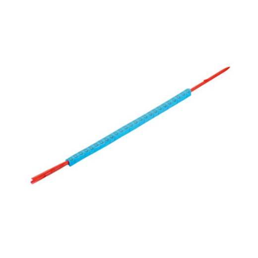 Kennzeichnungsring Aufdruck 6 Außendurchmesser-Bereich 1 bis 3 mm 0560001521 CLI R 02-3 BL/SW 6 Weidmüller