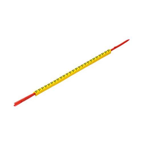 Kennzeichnungsring Aufdruck PE Außendurchmesser-Bereich 1 bis 3 mm 0560001668 CLI R 02-3 GE/SW P Weidmüller