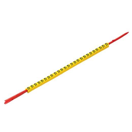 Weidmüller CLI R 02-3 GE/SW U Kennzeichnungsring Aufdruck U Außendurchmesser-Bereich 1 bis 3 mm 0560001680