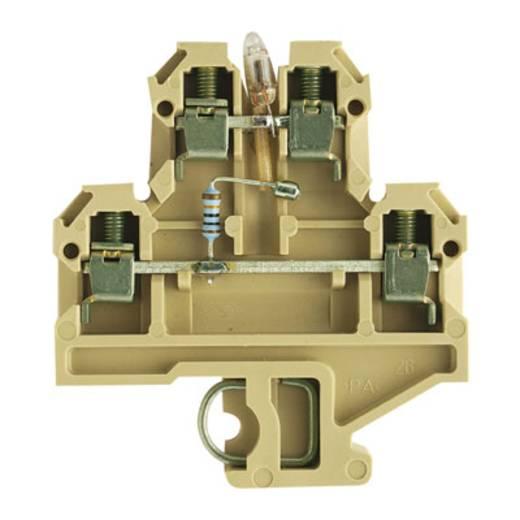 Durchgangs-Reihenklemme DK 4/35 LD 1D 230VAC Weidmüller Inhalt: 25 St.