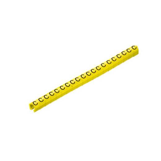 Kennzeichnungsclip Aufdruck D Außendurchmesser-Bereich 3 bis 4 mm 0648101643 CLI O 20-3 GE/SW D MP Weidmüller
