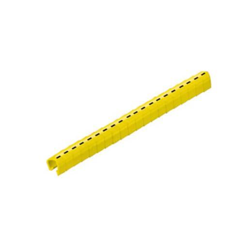 Kennzeichnungsclip Aufdruck - Außendurchmesser-Bereich 4 bis 5 mm 0648201740 CLI O 30-3 GE/SW - MP Weidmüller