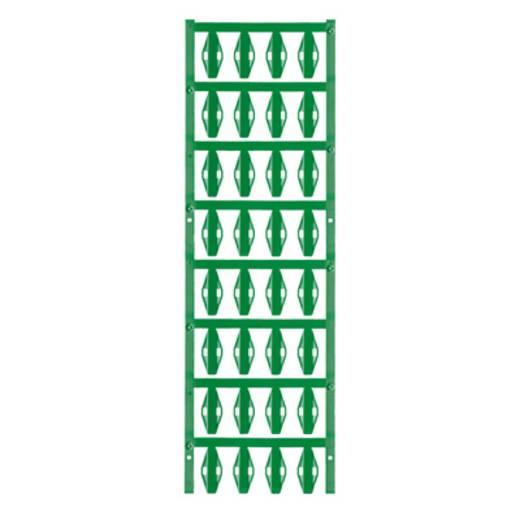 Leitermarkierer Montageart: Kabelbinder Beschriftungsfläche: 23.50 x 5 mm Passend für Serie Einzeldrähte, Universaleinsatz Grün Weidmüller SFX 10/23 NE GN V2 1007590000 Anzahl Markierer: 160 160 St.