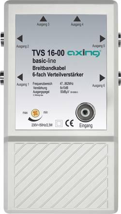 Širokopásmový antenní zesilovač Axing TVS 16, 10 dB