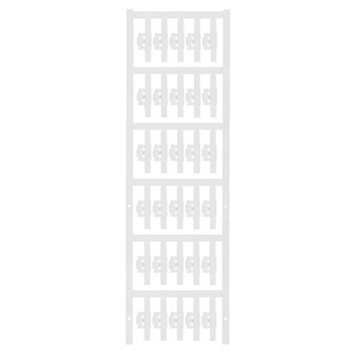 Zeichenträger Montage-Art: aufclipsen Beschriftungsfläche: 30 x 4.10 mm Passend für Serie Einzeldrähte Grün Weidmüller S