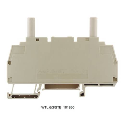 Prüftrenn-Reihenklemme WTL 6/1 EN STB SW Weidmüller Inhalt: 50 St.