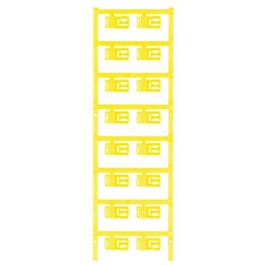 Zeichenträger Montage-Art: aufclipsen Beschriftungsfläche: 12 x 5 mm Passend für Serie Einzeldrähte Gelb Weidmüller SFC