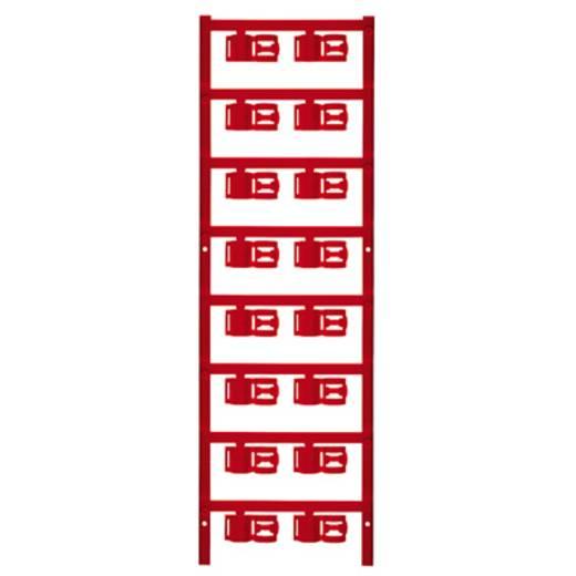 Zeichenträger Montage-Art: aufclipsen Beschriftungsfläche: 12 x 5 mm Passend für Serie Einzeldrähte Rot Weidmüller SFC 3