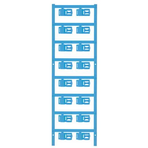 Zeichenträger Montage-Art: aufclipsen Beschriftungsfläche: 12 x 5 mm Passend für Serie Einzeldrähte Atoll-Blau Weidmülle