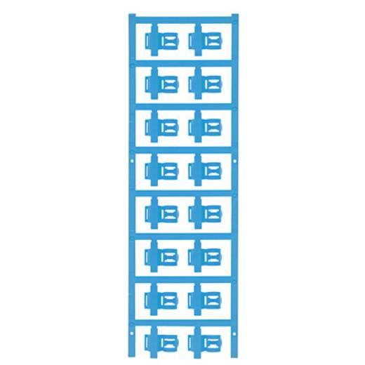 Zeichenträger Montage-Art: aufclipsen Beschriftungsfläche: 21 x 5 mm Passend für Serie Einzeldrähte Atoll-Blau Weidmülle