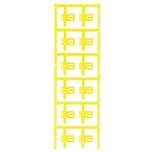 Zeichenträger Montage-Art: aufclipsen Beschriftungsfläche: 30 x 5 mm Passend für Serie Einzeldrähte Gelb Weidmüller SFC