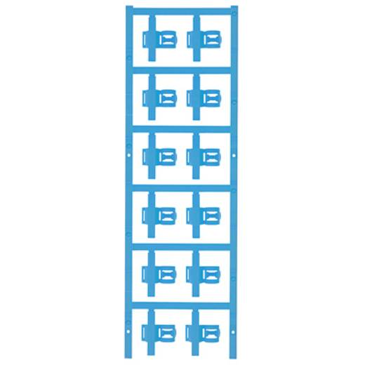 Zeichenträger Montageart: aufclipsen Beschriftungsfläche: 30 x 5 mm Passend für Serie Einzeldrähte Atoll-Blau Weidmüller SFC 3/30 MC NE BL 1025340000 Anzahl Markierer: 60 60 St.