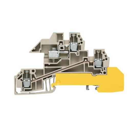 Verteiler-Reihenklemme für N-Schiene WDL 2.5/2/S/NT/L/PE-L/L Weidmüller Inhalt: 25 St.