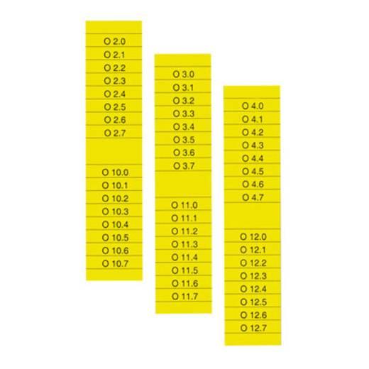 Beschriftungssystem Drucker Beschriftungsfläche: 203 x 15.50 mm Passend für Serie Baugruppen und Schaltanlagen, Univers