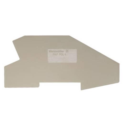 Abschlussplatte PAP 2.5/4/4AN BL 1052290000 Weidmüller 50 St.