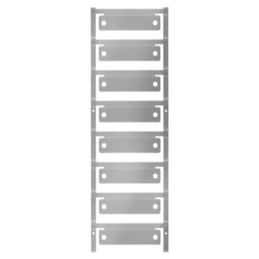 Gerätemarkierung Montage-Art: aufclipsen Beschriftungsfläche: 60 x 15 mm Passend für Serie Schilderrahmen Silber Weidmül