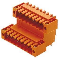 Barrette mâle encastrable (standard) Weidmüller SLD 3.50 V/04/90F 3.2 SN OR BX 1642370000 Nbr total de pôles 4 Pas: 3.5