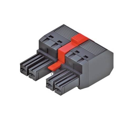 Buchsengehäuse-Kabel Polzahl Gesamt 3 Weidmüller 1060640000 Rastermaß: 7.62 mm 50 St.
