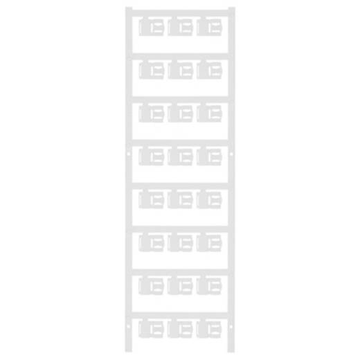Zeichenträger Montage-Art: aufclipsen Beschriftungsfläche: 12 x 5.80 mm Passend für Serie Einzeldrähte Weiß Weidmüller S