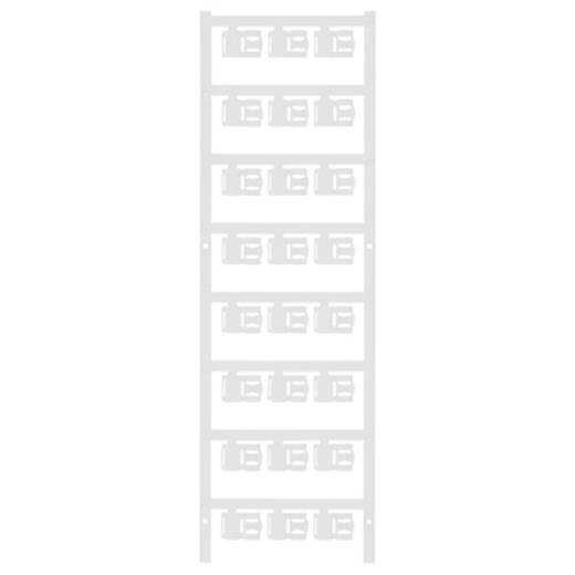 Zeichenträger Montageart: aufclipsen Beschriftungsfläche: 12 x 5.80 mm Passend für Serie Einzeldrähte Weiß Weidmüller SFC 2.5/12 MC NE WS 1062000000 Anzahl Markierer: 120 120 St.