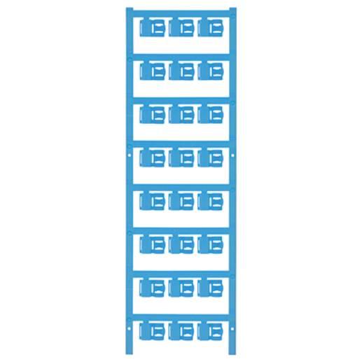 Zeichenträger Montage-Art: aufclipsen Beschriftungsfläche: 12 x 5.80 mm Passend für Serie Einzeldrähte Atoll-Blau Weidmü
