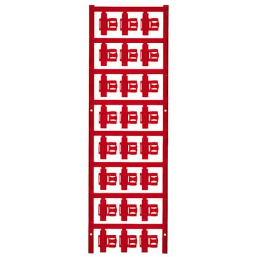Zeichenträger Montage-Art: aufclipsen Beschriftungsfläche: 21 x 5.80 mm Passend für Serie Einzeldrähte Rot Weidmüller SF