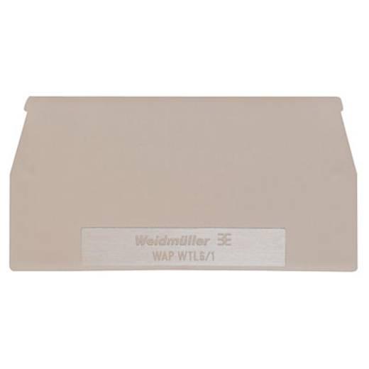 Abschlussplatte WAP WTL6/1 1068300000 Weidmüller 20 St.